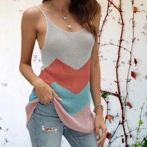 Tops - Crochet knit top